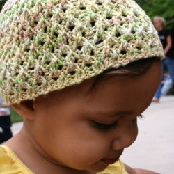 Reverseable Lace Hat 2