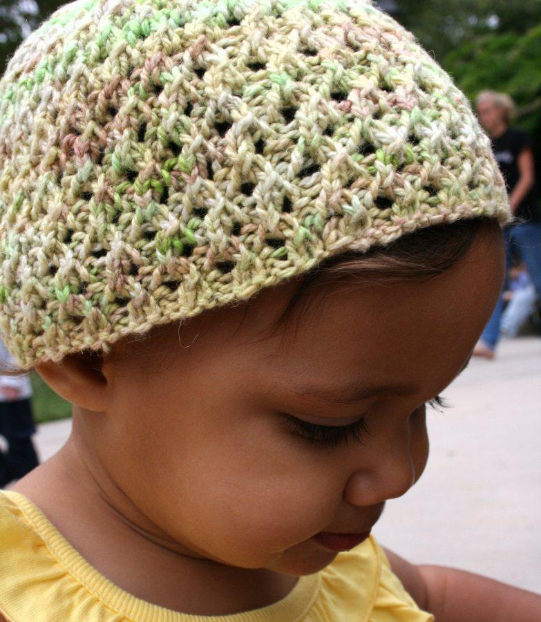 Reverseable Lace Hat 2