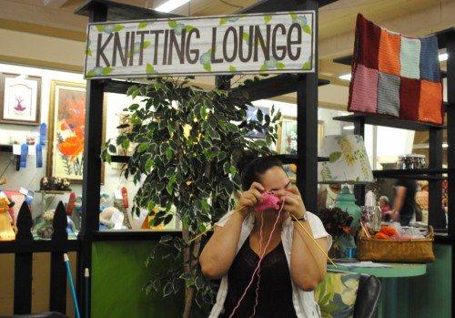 Knitting Pink