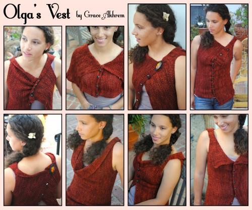 Olga's Vest KAL 2104