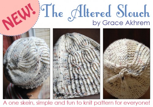 The Altered Slouch pattern promo NEW