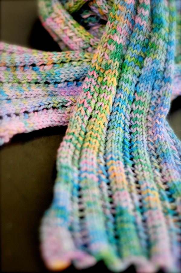One Skein Lace Scarf