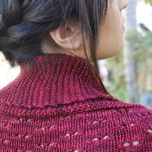 Bougainvillea Lace Shrug