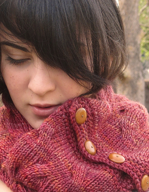 Reversible Tangled Branches Cowl