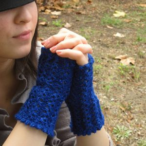Veronica's Fingerless Mitts